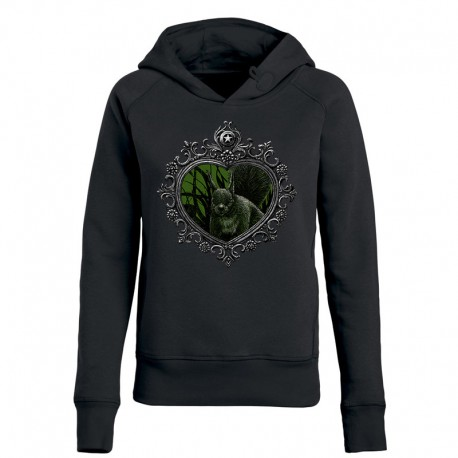 MIRROR »SQUIRREL« ladies hoodie