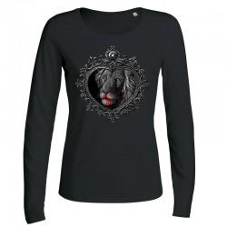 MIRROR »LION« ladies longsleeve