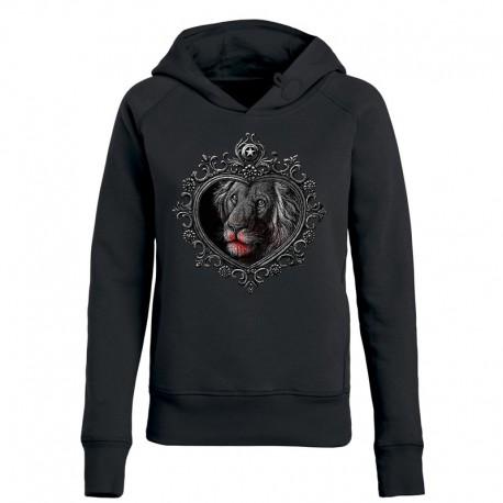 MIRROR »LION« ladies hoodie