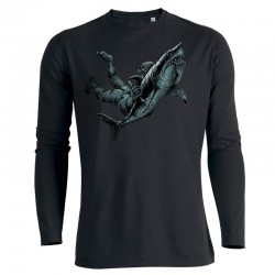 SHARK ATTACK men's longsleeve