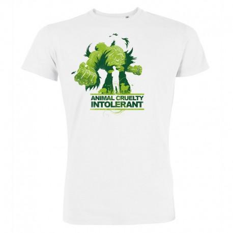 ANIMAL CRUELTY INTOLERANT men's t-shirt