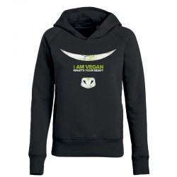 WHAT'S YOUR BEEF? ladies hoodie