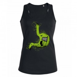 NO DEAD ANIMALS INSIDE ladies tank top