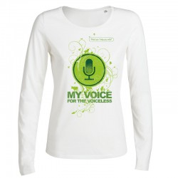 MY VOICE ladies longsleeve