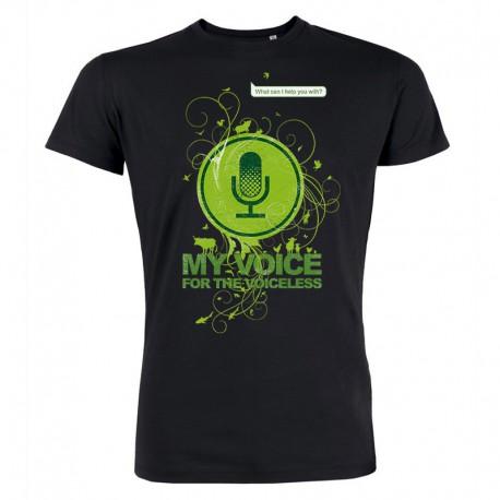 MY VOICE men's t-shirt