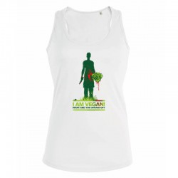 WHAT ARE YOU AFRAID OF? ladies tank top