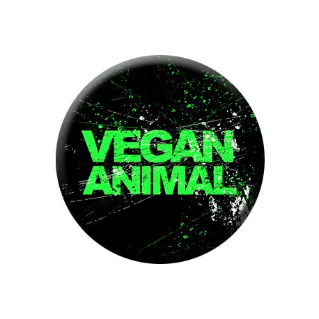 VEGAN ANIMAL button