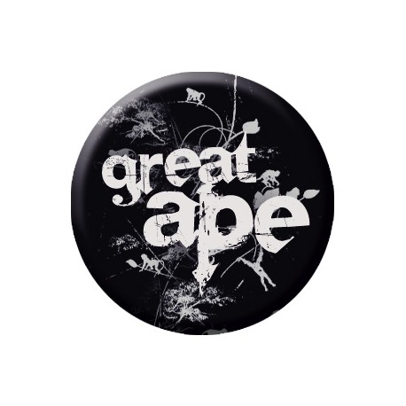 GREAT APE button