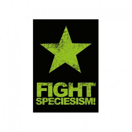 FIGHT SPECIESISM! mini sticker