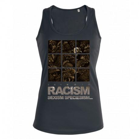 RACISM 4 ladies tank top