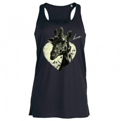 ...TO LOVE ladies flowy tank top
