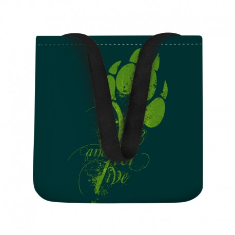LIVE AND LET LIVE tasche
