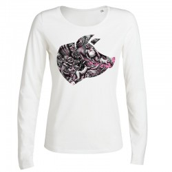 BLOODY HELL! »PORK« ladies longsleeve