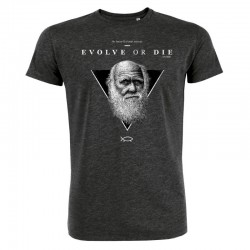 EVOLVE OR DIE (DUMB) men's t-shirt