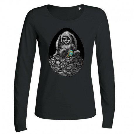 DAY-OLD CHICK ladies longsleeve