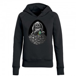 DAY-OLD CHICK ladies hoodie