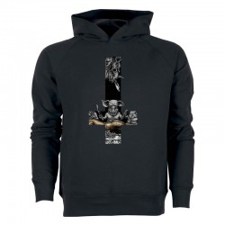 EAT OR BE EATEN men's hoodie