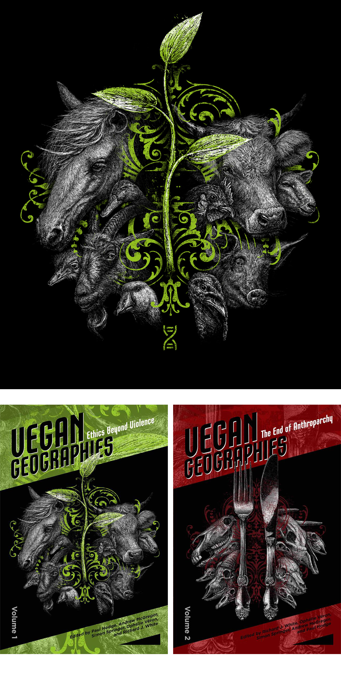 VEGAN GEOGRAPHIES Artwork by Roland Straller